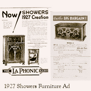 Showers Furniture Ad